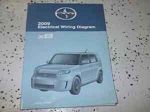 2009 Toyota SCION xB XB Electrical Wiring Diagram Manual ...