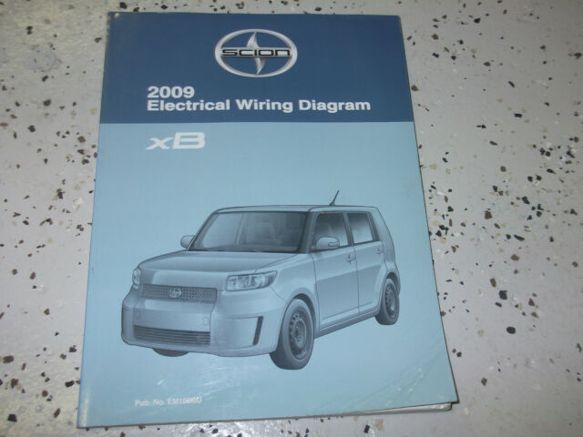 2009 Toyota Scion Xb Xb Electrical Wiring Diagram Manual