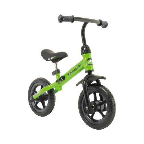 INJUSA Laufrad Balance Kawasaki Lauflernhilfe NEU grün
