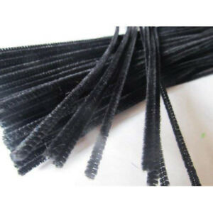 30 Per Pack Assorted 4mm x 150mm Chenilles Pipe Cleaners
