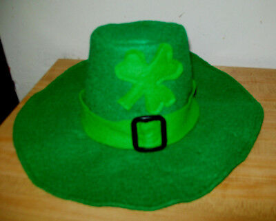 "IRISH LEPRECHAUN ST PATRICKS DAY HAT GREEN W//SHAMROCK for 16/"" CPK Cabbage Patch"
