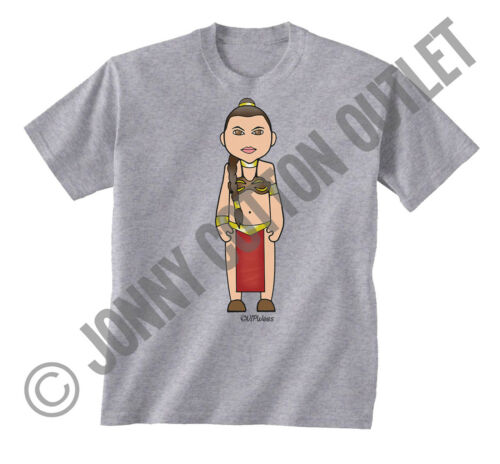 VIPwees Childrens T-Shirt Sci-Fi Movie Inspired Caricatures Choose Your Design