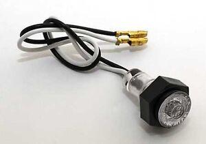 Mini-universal-LED-Standlicht-Positionslicht-15mm-rund-z-schrauben-KFZ-Motorrad