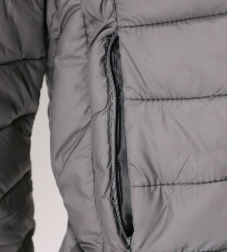 Men's Lightweight Slim Fit Packable Puffer Hooded Zipper Insulated Jacket