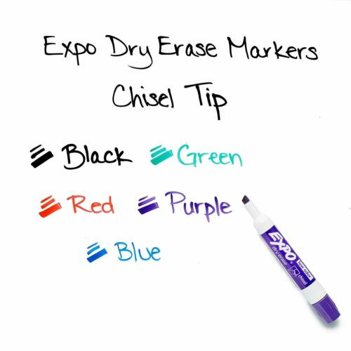 Expo Dry Erase Markers 36pc Set White Board Pens Assorted Colors for Teachers
