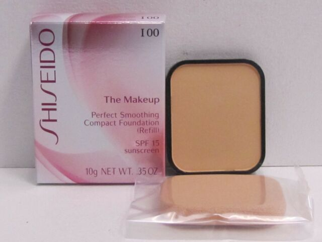 Shiseido The Makeup Perfect Smoothing Compact Foundation I00 Very Light Ivory