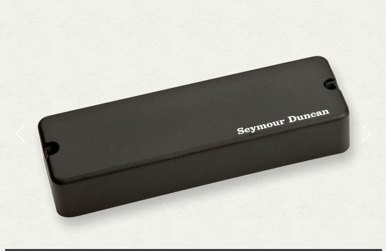 SEYMOUR DUNCAN 5 STRING ACTIVE SOAPBAR BASS BRIDGE ASB-5b