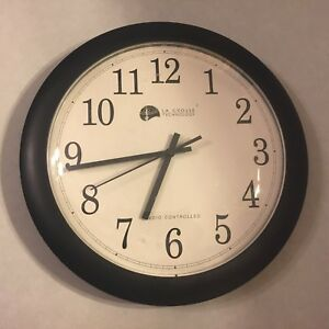 lacrosse radio controlled clock manual
