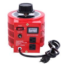 Ridgeyard 20amp 110v Variable Ac Power Transformer Regulator 0 130v Metered