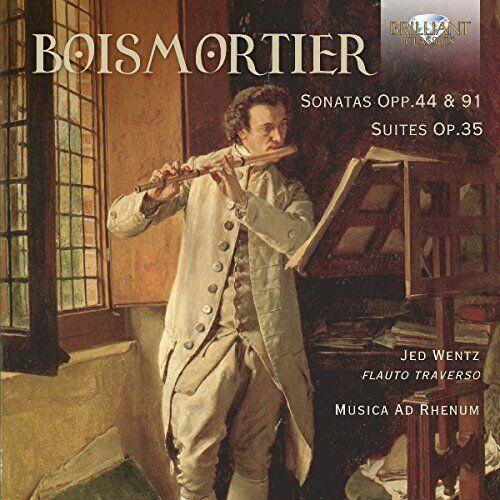 Jed Wentz - Boismortier: Sonatas Opp. 44 and 91, Suites Op.35 [CD]