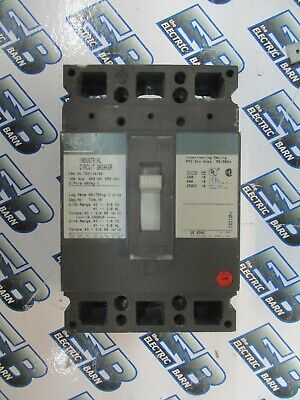 X General Electric 100 amp circuit breaker TED134100
