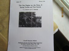 1926 Gas Engine On The Farm Troubleshooting Repair And Operating Of Gas Engines