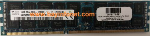 7106840 7076173 16GB 1x16GB Memory 3rd Party For Oracle Sun Server X4-4 X4-8