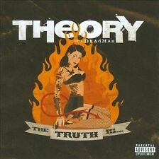 The Truth Is... Theory of a Dead Man Music-Good Condition