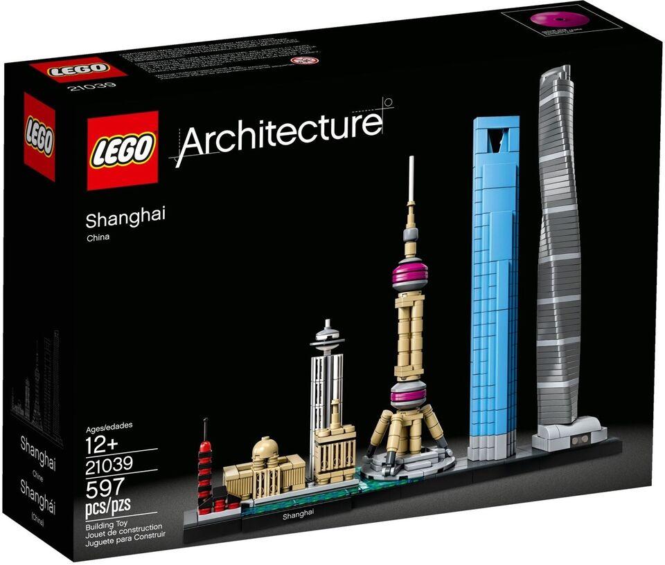 Lego Architecture, 21039 Shanghai Uåbnet