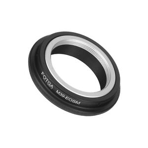 Fotga-Leica-M39-L39-Mount-Lens-To-Canon-EOS-M-M2-EF-M-Mirrorless-Camera-Adapter