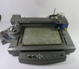 Roland EGX-30 Rotary Desktop Engraver 117VAC 50/60Hz. .6A ! AS IS !