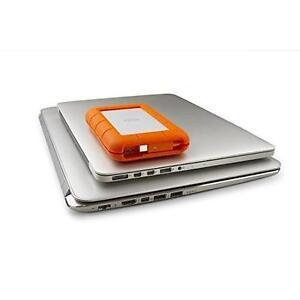 Lacie Rugged Thunderbolt And Usb 3 0 1tb Portable Hard Drive Stev1000400