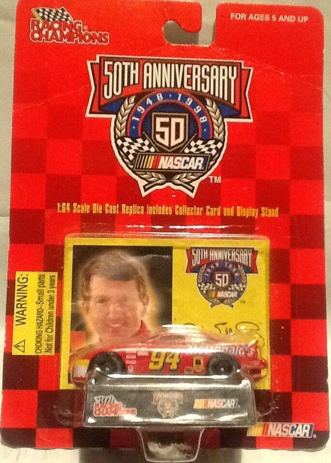 Racing Champions 50th Anniv McDonalds Bill Elliott 94 Red Ford Car 1 64 diecast