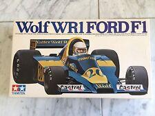 1/20 Wolf WR 1 Ford F1 By Tamiya With Original Decals