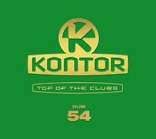 KONTOR = Top Of The Clubs 54 = Avicii/EDX/Antoine/Kaskade..=3CD= groovesDELUXE!!