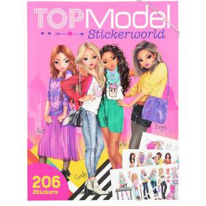 depesche topmodel stickerworld book with 206 stickers - 10958a | ebay