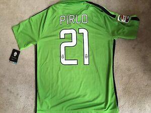 fe8240b7587 Image is loading Nike-Juventus-14-15-Third-Pirlo-Jersey-Shirt-