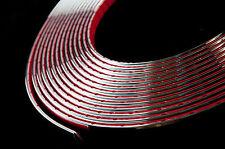10 meter Chrome Car Styling Moulding Strip Trim Adhesive 6mm Width x 2mm Depth