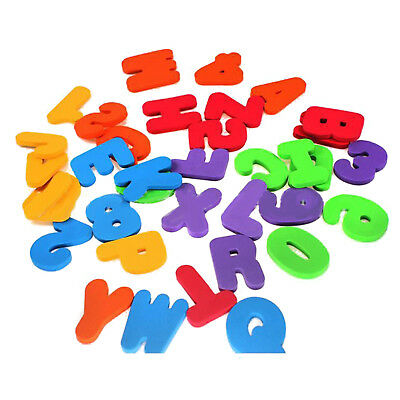 36P Baby Kids Toddler A-Z 0-9 Foam Letters Numbers Floating Bath tub Stick Toys