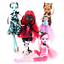 Monster-High-Doll-Lot-4pcs-Set-Dolls-Draculaura-Lagoona-Wolf-Mattel-Clothes-Gift thumbnail 3
