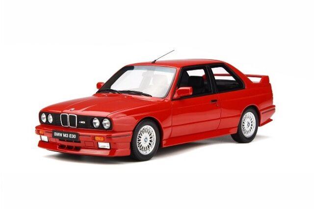 Solido 421184390 - 1/18 BMW M3, rot, 1986 - Neu