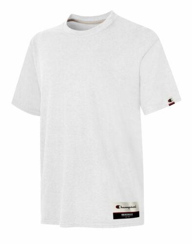 Champion Mens Authentic Originals Soft-Wash Short Sleeve T-shirt