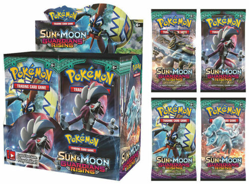 Brand new! Pokemon TCG Sun /& Moon Guardians Rising Booster Box Factory Sealed
