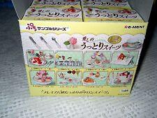 2009 Rare Re-Ment Full Set #131 Romantic Uttori Premium Sweets, Rapture of Love!