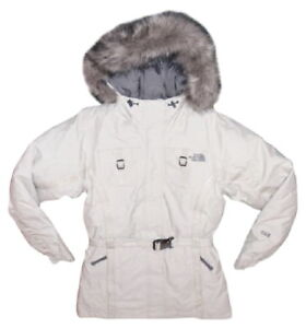 North-Face-Arctic-Parka-XSmall-0-2-Ivory-Womens-Short-Vintage-Sealed-Seams-NWOT