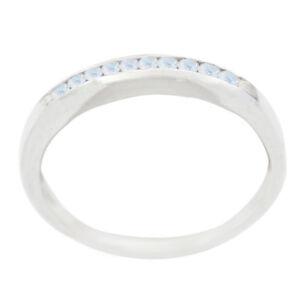 Regenbogen-Mondstein-Ring-Sterling-Silber-Ring-weisser-Ring-Wohnkultur-DE