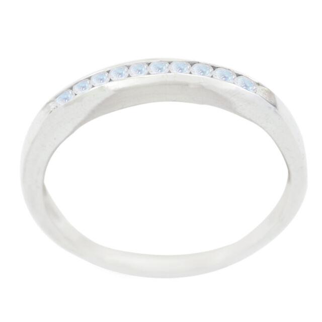 Regenbogen Mondstein Ring - Sterling Silber Ring - weißer Ring - Wohnkultur DE