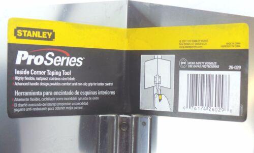 Stanley Pro Series Comfort Grip Inside Corner Taping Tool Trowel 26-029