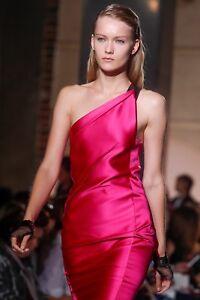 Roland-Mouret-Pink-One-shoulder-Satin-Araila-Dress-uk-10-12