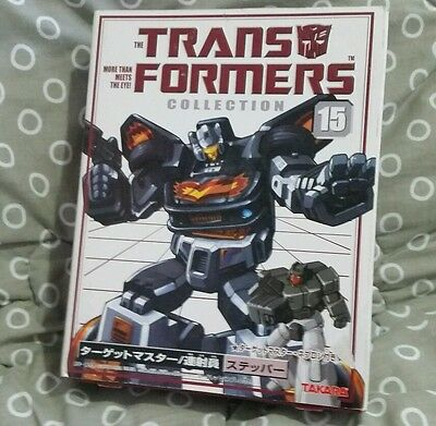 Transformers Bookstyle TFC #15 G1 Ricochet Stepper Reissue Targetmaster New