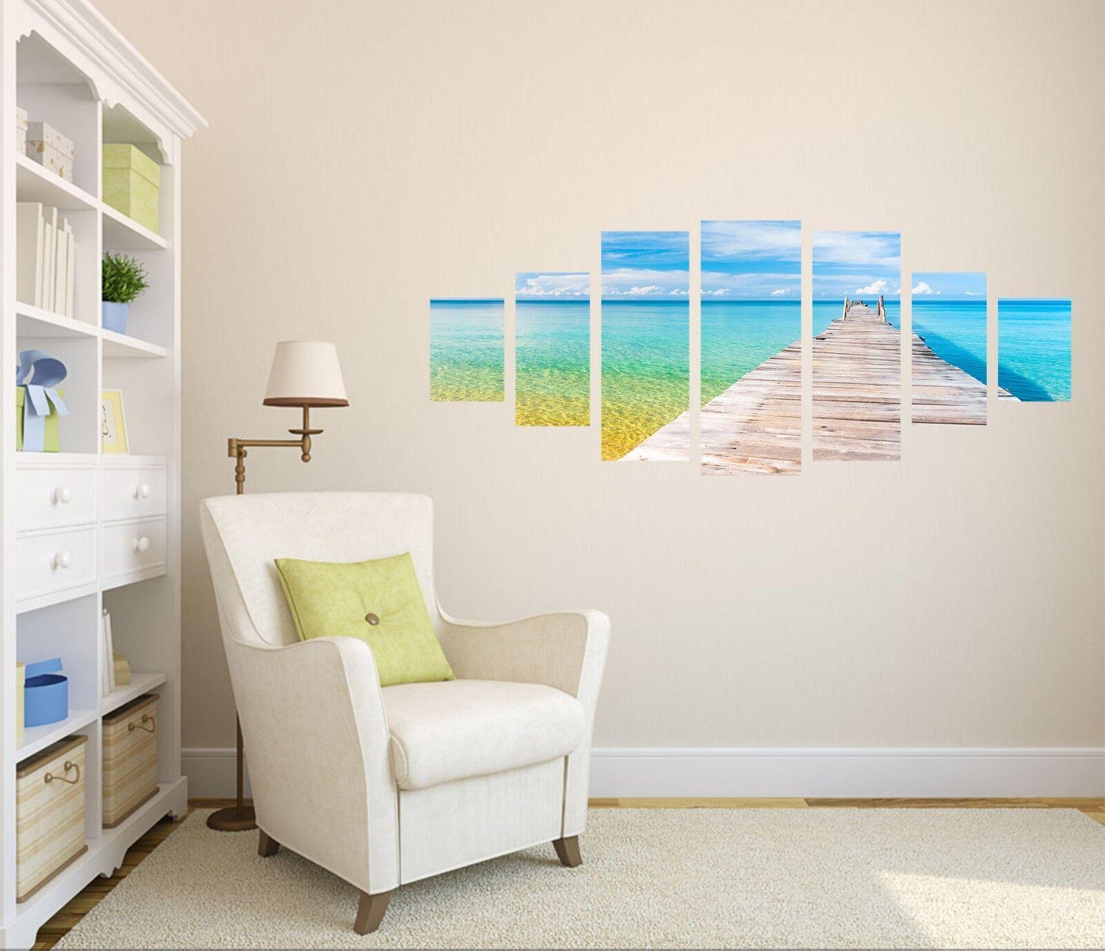 3D Costa pasillo 5248 sin enmarcar Impresión Papel de Parojo Calcomanía Decoración De Parojo Parojo Interior AJ