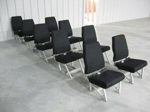 Commuter Seat Set - 9 Seats - Beechcraft King Air A100