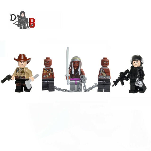 The Walking Dead Negan Minifigure Made using LEGO /& custom parts.