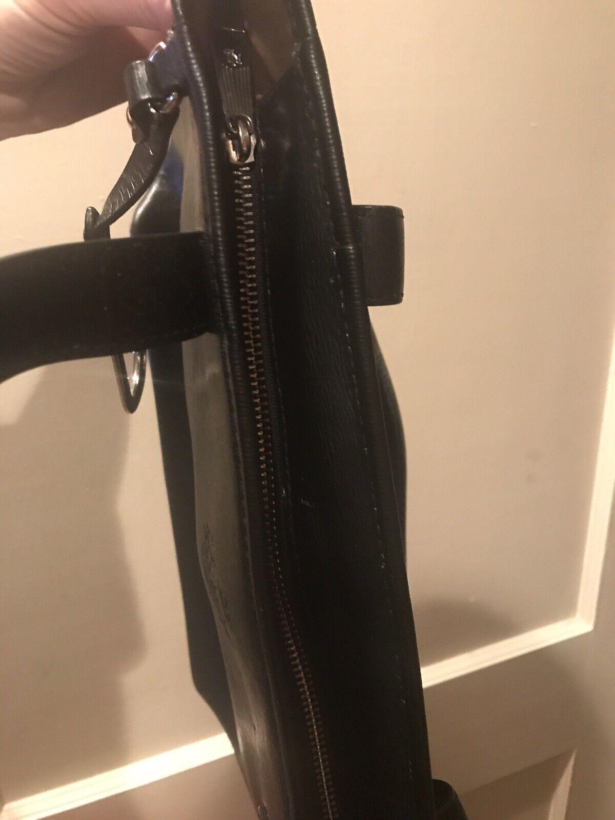 Ralph Lauren blk classic handbag - image 2