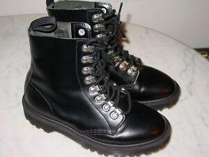 black doc martens size 4