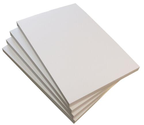 blanko DIN A4  50 Blatt 80 g//m² zeichnen Malblock 5 x Notizblock 22415