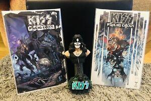 KISS MCFARLANE PETER CRISS 'CAT MAN' COLLECTIBLE STATUE 2002 FIGURE / Comic Lot