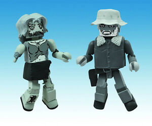 Gewidmet The Walking Dead Minimates Wintermantel Dale & Weiblich Zombie Halloween 101063 Spielzeug Action- & Spielfiguren