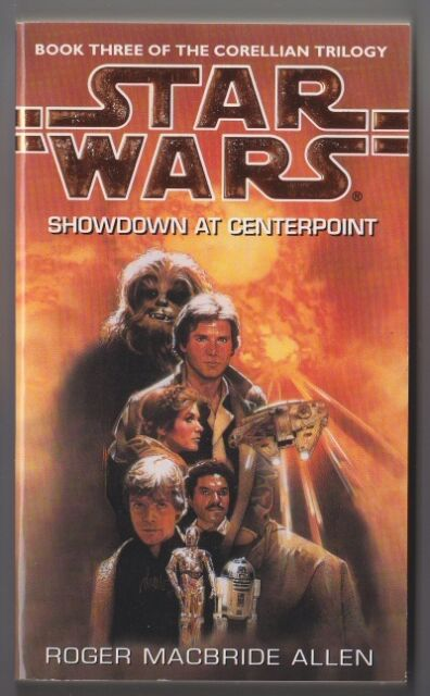 Star Wars Paperback Book - Showdown at Centerpoint