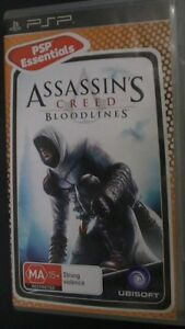 Assassin S Creed Bloodlines Psp Game 30 Days Warranty Ebay
